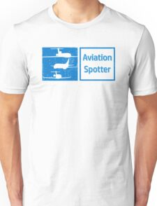 Aviation Spotter three plane Unisex T-Shirt