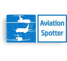 Aviation Spotter three plane Canvas Print