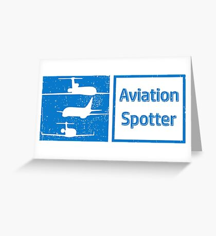 Aviation Spotter three plane Greeting Card