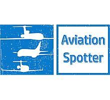 Aviation Spotter three plane Photographic Print