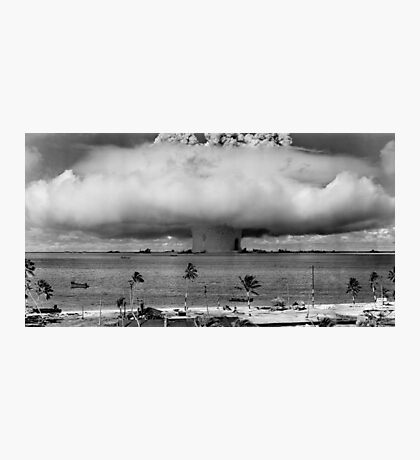 Nuclear Weapon Test - Bikini Atoll  Photographic Print