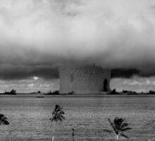 Nuclear Weapon Test - Bikini Atoll  Sticker