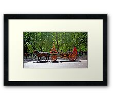 Royal Carriage Framed Print