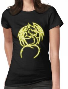 Dragon neon jaune 3 Womens Fitted T-Shirt