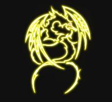Dragon neon jaune 3 Unisex T-Shirt