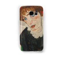 Egon Schiele - Portrait of Wally Neuzil 1912 Woman Portrait Samsung Galaxy Case/Skin