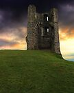 Sunset at Hadleigh Castle by Vicki Spindler (VHS Photography)