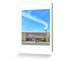 City Center Motel Greeting Card