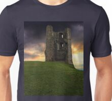 Sunset at Hadleigh Castle Unisex T-Shirt