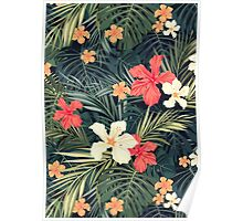 Jungle flowers Poster