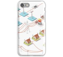 Energy Offshore Wind Farms iPhone Case/Skin