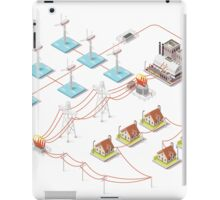 Energy Offshore Wind Farms iPad Case/Skin