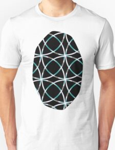 Intersecting Rings Fractal in TPGY T-Shirt