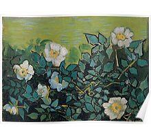 1890-Vincent van Gogh-Wild roses-24,5x33 Poster