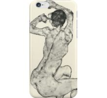 Egon Schiele - Zeichnungen IX. 1915 iPhone Case/Skin