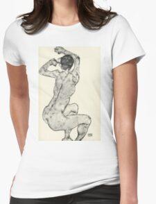 Egon Schiele - Zeichnungen IX. 1915 Womens Fitted T-Shirt