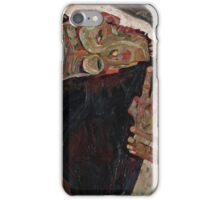 Egon Schiele - The Lyricist 1911  Expressionism  Portrait iPhone Case/Skin