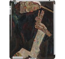 Egon Schiele - The Lyricist 1911  Expressionism  Portrait iPad Case/Skin