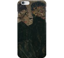 Egon Schiele - The Hermits 1912 iPhone Case/Skin