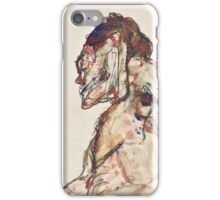 Egon Schiele - The Dancer 1913  Expressionism  Portrait iPhone Case/Skin