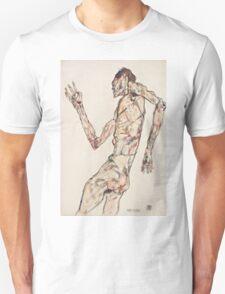Egon Schiele - The Dancer 1913  Expressionism  Portrait Unisex T-Shirt