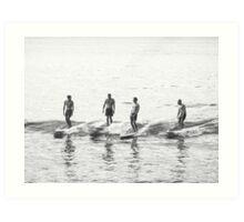 Men of Wood & Foam - Noosa Art Print