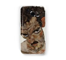 Egon Schiele - Self-Portrait with Lowered Head 1912  Expressionism  Portrait Samsung Galaxy Case/Skin
