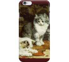 Charles Van Den Eycken - Signed And Sealed iPhone Case/Skin