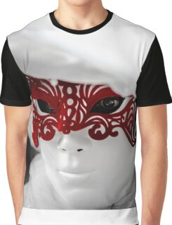Editorial, 6 March 2016: Rosheim, France: Venetian Carnival Mask - A most beautiful masks photographed in open street Graphic T-Shirt
