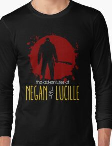 the adventures of NEGAN & LUCILLE Long Sleeve T-Shirt