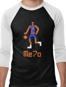 Me7o Pixel Men's Baseball ¾ T-Shirt
