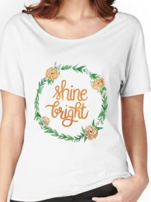 Shine Bright Women's Relaxed Fit T-Shirt
