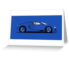 2013 Bugatti Veyron 16.4 Mansory Empire Edition Greeting Card