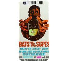 Geek Night: VIII Bats Vs. Supes iPhone Case/Skin