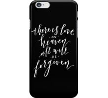Love in Heaven iPhone Case/Skin