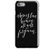 Love in Heaven iPhone Case/Skin