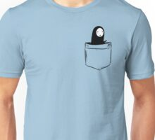 No Face Pocket Unisex T-Shirt