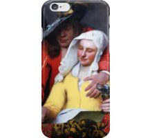 Johannes Vermeer - The Procuress 1656  Romance iPhone Case/Skin