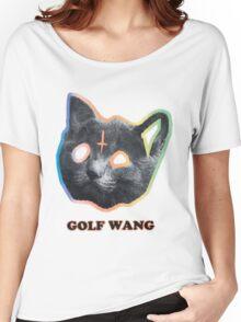 Golf wang cat tee Women's Relaxed Fit T-Shirt