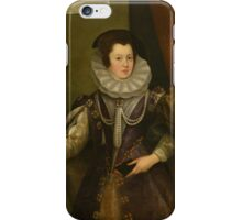 Jan van Belcamp - The Great Picture , Portrait , Fashion  iPhone Case/Skin