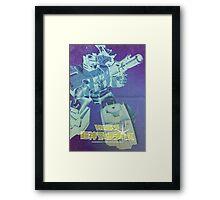 G1 Transformers Masterforce Poster Framed Print