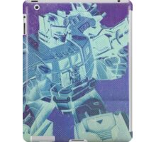 G1 Transformers Masterforce Poster iPad Case/Skin