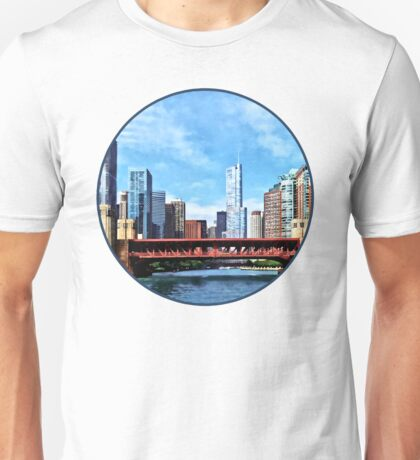 Chicago IL - Lake Shore Drive Bridge Unisex T-Shirt