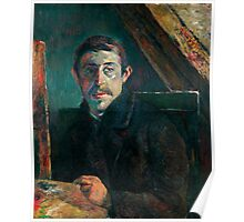 1885 - Gauguin - Self-Portrait Poster