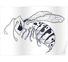 Gothic Wasp Poster