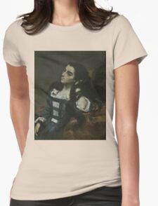 Gustave Courbet - Spanish Woman 1855 ,  Portrait , Fashion  Womens Fitted T-Shirt
