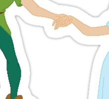 Peter and Wendy Sticker