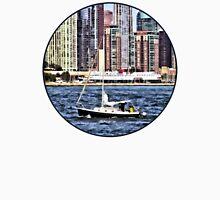 Chicago IL - Sailing on Lake Michigan Unisex T-Shirt
