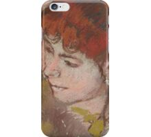 Edgar Degas - Ballet Dancers on the Stage (1883)  Impressionism iPhone Case/Skin