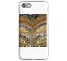 Les Galeries Lafayette, Paris iPhone Case/Skin